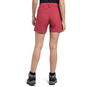 Haglöfs Amfibious Pantalones cortos Mujer, rojo